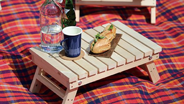 折りたたみピクニックテーブル