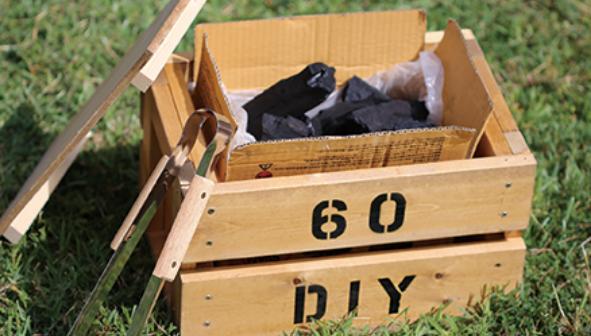 木炭ボックス