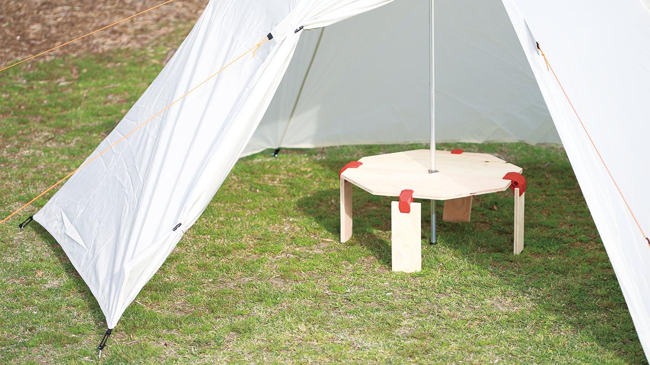 PLAYWOOD90で作るキャンプテーブル